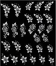 Parfumuri și produse cosmetice Stickere de unghii - Peggy Sage Decorative Nail Stickers Pink Line White Line (1buc.)