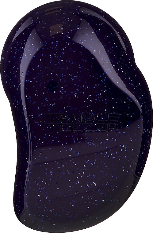 Perie de păr - Tangle Teezer The Original Purple Glitter Hair Brush — Imagine N3