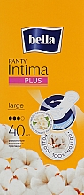 Духи, Парфюмерия, косметика Absorbante Panty Intima Plus Large, 40 bucăți - Bella