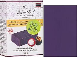 Parfumuri și produse cosmetice Săpun cu extract de manganen - Sabai Thai Herbal Mangosteen Soap