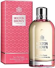 Parfumuri și produse cosmetice Molton Brown Fiery Pink Pepper Pampering Bathing Oil - Ulei de baie