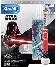 Parfumuri și produse cosmetice Set - Oral-B Kids Star Wars Special Edition (tooth/brush/1pcs + case) (1buc)