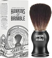 Parfumuri și produse cosmetice Perie de ras cu peri sintetici - Hawkins & Brimble Synthetic Shaving Brush