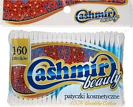 Parfumuri și produse cosmetice Bețișoare din bumbac, 160 bucăți - Cashmir