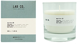 Parfumuri și produse cosmetice Lumânare parfumată - Ambientair Lab Co. Myrtle