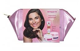 Parfumuri și produse cosmetice Set - Dermacol Collagen+ (d/f/cr/50ml + n/f/cr/50ml + f/serum/12ml + bag)