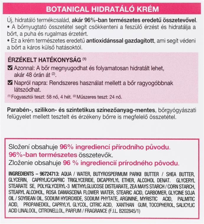 Hidratant de zi pentru piele uscată și sensibilă - Granier Skin Naturals Soft Essentials Hydrating Care 24h Day Face Cream — Imagine N3