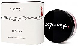 Parfumuri și produse cosmetice Fard cu extract de chihlimbar pentru obraz - Uoga Uoga Natural Blush Powder With Amber