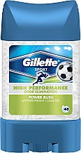 Parfumuri și produse cosmetice Deodorant antiperspirant gel - Gillette Power Rush Anti-Perspirant Gel for Men