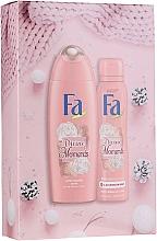 Parfumuri și produse cosmetice Set - Fa Divine Moments (sh/gel/250ml + deo/spray/150ml)