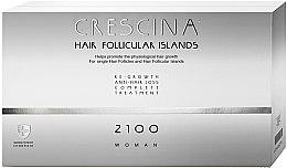 Parfumuri și produse cosmetice Fiole tratament împotriva căderii părului, pentru femei - Labo Crescina Complete Treatment Hair Follicular Island 2100