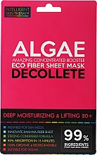 Parfumuri și produse cosmetice Mască-express pentru zona decolteului - Beauty Face IST Deep Moisturizing & Lifting Decolette Mask Algae