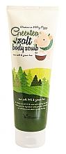 Духи, Парфюмерия, косметика Скраб для тела с экстрактом зеленого чая - Elizavecca Body Care Milky Piggy Greentea Salt Body Scrub