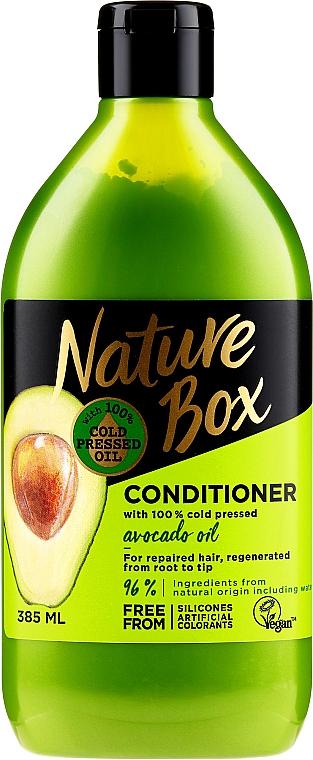 Balsam cu ulei de avocado pentru păr - Nature Box Avocado Oil Conditioner