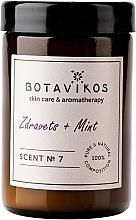 Parfumuri și produse cosmetice Botavikos Zdravets&Mint - Lumânare parfumată