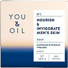 Parfumuri și produse cosmetice Săpun nutritiv pentru bărbați - You & Oil Nourish & Invigorate Men