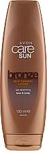 Parfumuri și produse cosmetice Loțiune-Bronzer pentru corp - Avon Care Sun Moisturising Self-Tan Face & Body Lotion