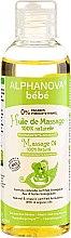 Parfumuri și produse cosmetice Ulei de masaj pentru copii și bebeluși - Alphanova Bebe Massage Oil 100% Natural