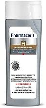 Parfumuri și produse cosmetice Șampon pentru păr cărunt, cu efect de revitalizare - Pharmaceris H-Stimutone Specialist Shampoo Gray Hair Preventing & Hair Growth Stimulating