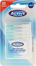 Parfumuri și produse cosmetice Perii interdentale - Beauty Formulas Active Oral Care Interdental Soft Brushes