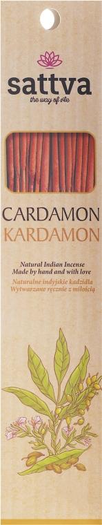 """Stick-uri aromatice """"Cardamom"""" - Sattva Kardamon"""