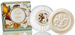 "Parfumuri și produse cosmetice Săpun natural ""Fructe și Crin"" - Saponificio Artigianale Fiorentino Fruits&Lily Soap"
