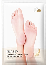 Parfumuri și produse cosmetice Mască pentru exfolierea picioarelor - Pilaten Exfoliating Soft Foot