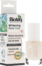 Parfumuri și produse cosmetice Lac de bază pentru unghii - Bioteq Whitening Base Coat