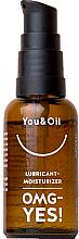 "Parfumuri și produse cosmetice Интимний гель-смазка ""OMG Yes"" - You & Oil Lubricant-Moisturizer OMG-Yes!"