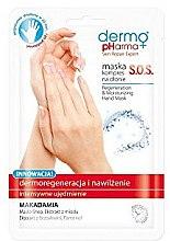 Parfumuri și produse cosmetice Mască-compres regeneratoare pentru mâini - Dermo Pharma Skin Repair Expert S.O.S. Regeneration & Moisturizing Hand Mask