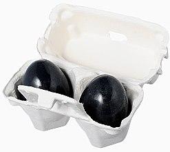 Parfumuri și produse cosmetice Săpun cu extract de cărbune (pentru față) - Holika Holika Charcoal Egg Soap