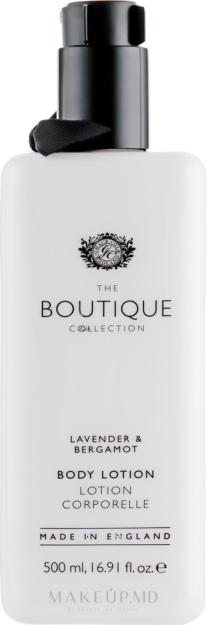 """Loțiune de corp """"Lavandă și bergamot"""" - Grace Cole Boutique Body Lotion Lavender & Bergamot — Imagine 500 ml"""