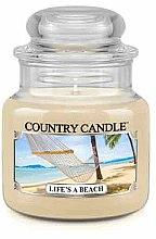 Parfumuri și produse cosmetice Lumânare aromată (borcan) - Country Candle Life's A Beach