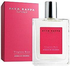 Parfumuri și produse cosmetice Acca Kappa Virginia Rose - Apă de colonie