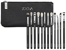 Parfumuri și produse cosmetice Set pensule pentru machiaj - Zoeva Complete Eye Set (12/brushes+bag)