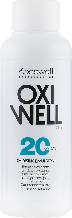 Emulsie oxidantă 6% - Kosswell Professional Oxidizing Emulsion Oxiwell 6% 20vol