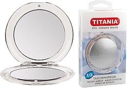 Parfumuri și produse cosmetice Oglindă compactă, cu două fețe - Titania
