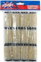 Parfumuri și produse cosmetice Bigudiuri 28/63 mm, negru - Ronney Wire Curlers