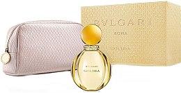 Parfumuri și produse cosmetice Bvlgari Goldea - Set (edp/90ml + bag)