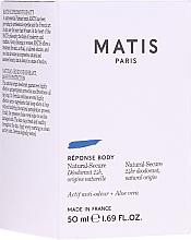 Parfumuri și produse cosmetice Deodorant - Matis Reponse Body Deodorant