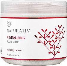 Parfumuri și produse cosmetice Scrub cu efect revitalizant - Naturativ Revitalising Body Sugar Scrub