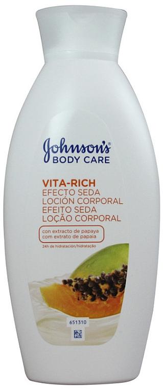 Lotiune corporală cu extract de papaya - Johnson's Body Care Vita-Rich Lotion