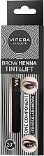 Parfumuri și produse cosmetice Henna pentru sprâncene - Vipera Tint&Lift Brow Henna