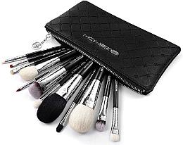 Parfumuri și produse cosmetice Set pensule pentru machiaj, 12 buc - Eigshow Luxe Series Classic Makeup Brush Kit Bright Silver