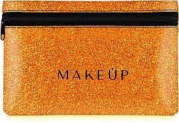 """Parfumuri și produse cosmetice Trusă cosmetică """"Glitter Pouch"""", 18x11 cm, oranj - MakeUp"""