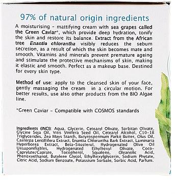 Cremă de zi cu extract de caviar verde - AVA Laboratorium Bio Alga Day Cream — Imagine N3
