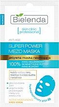 Parfumuri și produse cosmetice Mască în șervețel hidroplastic - Bielenda Skin Clinic Professional Mezo Maska Anti-age