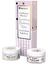 Parfumuri și produse cosmetice Set - Nacomi Blueberry Dream (b/mousse/100ml + b/foam/100ml)