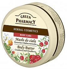 Parfumuri și produse cosmetice Ulei de masaj - Green Pharmacy Body Butter Cranberry and Cloudberry