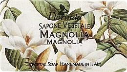 "Parfumuri și produse cosmetice Săpun natural ""Magnolie"" - Florinda Sapone Vegetale Magnolia"